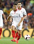Sevilla FC's Wistam Ben Tedder during Supercup of Spain 2nd match.August 17,2016. (ALTERPHOTOS/Acero)