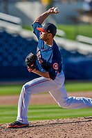 1 March 2017: Houston Astros pitcher Tyson Perez on the mound during Spring Training action against the Miami Marlins at the Ballpark of the Palm Beaches in West Palm Beach, Florida. The Marlins defeated the Astros 9-5 in Grapefruit League play. Mandatory Credit: Ed Wolfstein Photo *** RAW (NEF) Image File Available ***