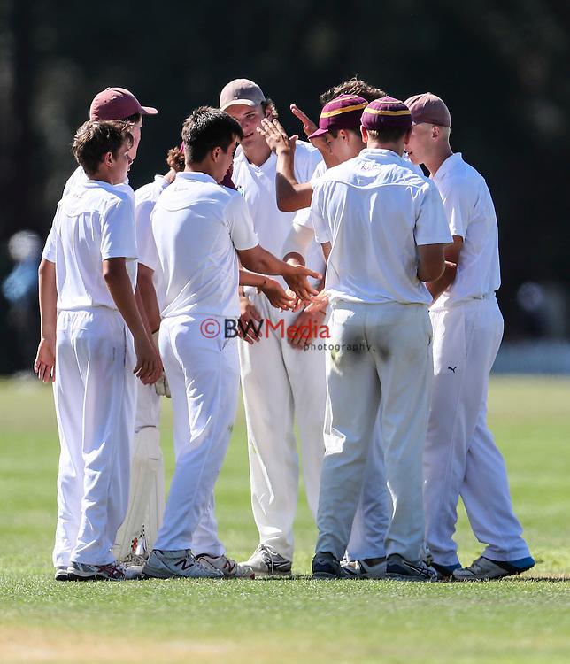 Trans Tasman Cricket Quad Tournament, Kings College v Shore, Kings College, Auckland. Tuesday 24 January 2017. Photo: Simon Watts/www.bwmedia.co.nz for Kings College