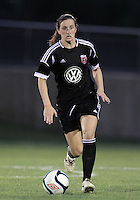BOYDS, MARYLAND-JULY 07,2012:  Andi Sullivan (24) of DC United Women in her debut against the Dayton Dutch Lions during a W League game at Maryland Soccerplex, in Boyds, Maryland. DC United women won 4-1.