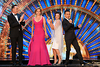 """Craig Revel-Horwood, Dame Darcey Bussell, Shirley Ballas and Bruno Tonioli<br /> at the launch of """"Strictly Come Dancing"""" 2018, BBC Broadcasting House, London<br /> <br /> ©Ash Knotek  D3426  27/08/2018"""