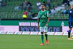 19.09.2020, wohninvest Weserstadion, Bremen, GER,  SV Werder Bremen vs Hertha BSC Berlin, <br /> <br /> <br />  im Bild<br /> <br /> enttäuscht / enttaeuscht / traurig / Niederlage / dissapointed<br /> Leonardo Bittencourt  (Werder Bremen #10)<br /> <br /> Foto © nordphoto / Kokenge<br /> <br /> DFL regulations prohibit any use of photographs as image sequences and/or quasi-video.