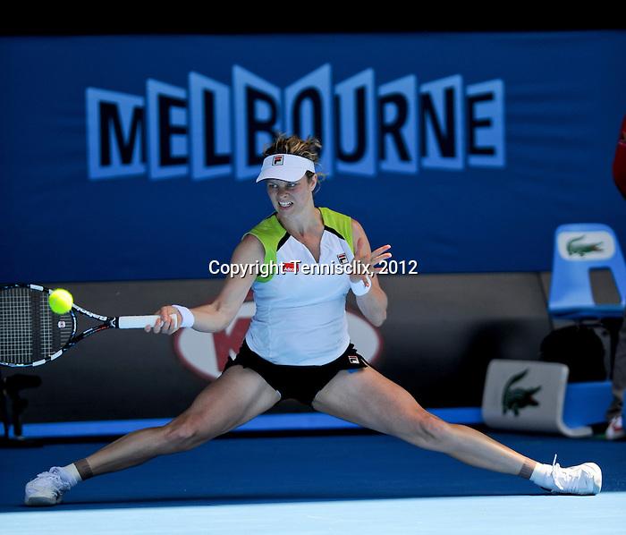 Victoria Azarenka is successful in her bid to reach the 2012 Australian Open Final in Melbourne Australia on January 26, 2012