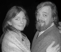 Judy Collins and Stephen Sondheim 1978<br />