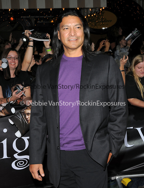 """Gil Birmingham at Summit Entertainment's highly anticipated Premiere of """"Twilight"""" held at The Mann's Village Theatre in Westwood, California on November 17,2008                                                                     Copyright 2008 Debbie VanStory/RockinExposures"""