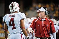 TEMPE, AZ - November 13, 2010: Brian Polian during a football game at Arizona State University in Tempe, Arizona. Stanford won 17-13.