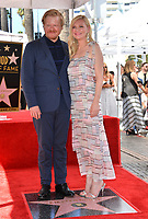 LOS ANGELES, CA. August 29, 2019: Kirsten Dunst & Jesse Plemons at the Hollywood Walk of Fame Star Ceremony honoring Kirsten Dunst.<br /> Pictures: Paul Smith/Featureflash