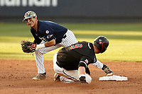 SAN ANTONIO, TX - APRIL 26, 2019: The University of Texas at San Antonio Roadrunners drop the series opener 5-3 to the Western Kentucky University Hilltoppers at Roadrunner Field. (Photo by Jeff Huehn)