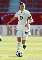 Dzsenifer Marozsan      <br /> /   World Championships Qualifiers women women /  2017/2018 / 07.04.2018 / DFB National Team / GER Germany vs. Czech Republic CZE 180407039 / <br />  *** Local Caption *** © pixathlon<br /> Contact: +49-40-22 63 02 60 , info@pixathlon.de