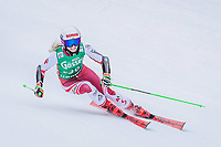 28th December 2020; Semmering, Austria; FIS Womens Giant Slalom World Cu Skiing;  Eva Maria Brem of Austria in action during her 1st run of women Giant Slalom of FIS ski alpine world cup at the Panoramapiste in Semmering