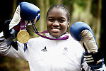 Pix: Shaun Flannery/shaunflanneryphotography.com...COPYRIGHT PICTURE>>SHAUN FLANNERY>01302-570814>>07778315553>>..13th November 2012.<br /> <br /> Nicola Adams, Britain's first ever Olympic Women's Boxing Gold medalist.