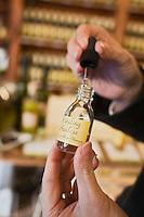 Europe/Autriche/Niederösterreich/Vienne: Marché Naschmarkt - Vinaigres de fruits de la société Gegenbauer