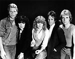 Heart 1982 Mark Andes, Ann Wilson, Nancy Wilson, Danny Carmassi and Howard Leese<br /> © Chris Walter