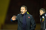 Motherwell v St Johnstone...10.11.10  .Derek McInnes tries to get his players going.Picture by Graeme Hart..Copyright Perthshire Picture Agency.Tel: 01738 623350  Mobile: 07990 594431