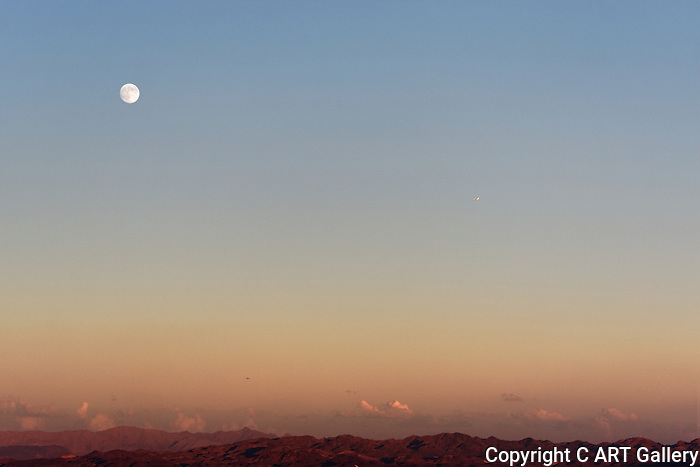 Sunset - Photograph by alan Mahood.