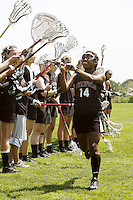 20 June 2006: Nyerr Parham during Stanford's 17-9 loss to Northwestern in the first round of the 2006 NCAA Lacrosse Championships in Evanston, IL. Stanford made it to the NCAA's for the first time in school history.