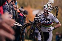 CX World Champion Sanne Cant (BEL)<br /> <br /> Women's race<br /> Superprestige Asper-Gavere 2018 (BEL)