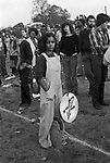 Rock Against Racism March and Concert. March from Hyde Park to Brockwell Park near Brixton London 1978.