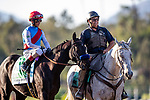 October 02, 2021: Medina Spirit wins the Awesome Again Stakes at Santa Anita Park in Arcadia, California on October 02, 2021. Evers/Eclipse Sportswire/CSM
