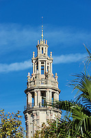 Old post office tower, Barcelona, Spain.