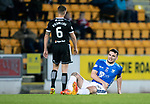 St Johnstone v Hamilton Accies…10.11.18…   McDiarmid Park    SPFL<br />Tony Watt gets an injury to his hip<br />Picture by Graeme Hart. <br />Copyright Perthshire Picture Agency<br />Tel: 01738 623350  Mobile: 07990 594431