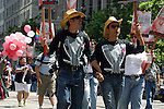 PEOPLE MARCH FOR MARRAIGE EQUALITY IN GAY PRIDE PARADE