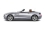 Car Driver side profile view of a 2014 BMW Z4 sDrive35i Lounge 2 Door Convertible 2WD Side View