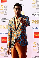 LOS ANGELES - MAR 30:  Chadwick Boseman at the 50th NAACP Image Awards - Arrivals at the Dolby Theater on March 30, 2019 in Los Angeles, CA