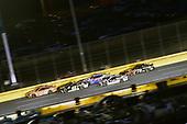 #19: Daniel Suarez, Joe Gibbs Racing, Toyota Camry ARRIS and #48: Jimmie Johnson, Hendrick Motorsports, Chevrolet Camaro Lowe's for Pros