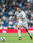 Cristiano Ronaldo of Real Madrid in action during the La Liga 2017-18 match between Real Madrid and Real Betis at Estadio Santiago Bernabeu on 20 September 2017 in Madrid, Spain. Photo by Diego Gonzalez / Power Sport Images