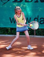 05-08-13, Netherlands, Dordrecht,  TV Desh, Tennis, NJK, National Junior Tennis Championships, Joes van Geijn   Emily van der Werf<br /> <br /> <br /> Photo: Henk Koster