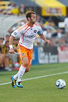 24 JULY 2010:  Brad Davis of the Houston Dynamo (11) during MLS soccer game between Houston Dynamo vs Columbus Crew at Crew Stadium in Columbus, Ohio on July 3, 2010. Columbus defeated the Dynamo 3-0.