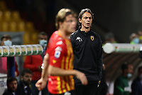 Filippo Inzaghi coach of SC Benevento<br /> during the Serie A football match between SC Benevento and FC Internazionale at stadio Ciro Vigorito in Benevento (Italy), September 30, 2020. <br /> Photo Cesare Purini / Insidefoto