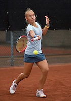 07-08-13, Netherlands, Rotterdam,  TV Victoria, Tennis, NJK 2013, National Junior Tennis Championships 2013, Judith van Kessel<br /> <br /> <br /> Photo: Henk Koster