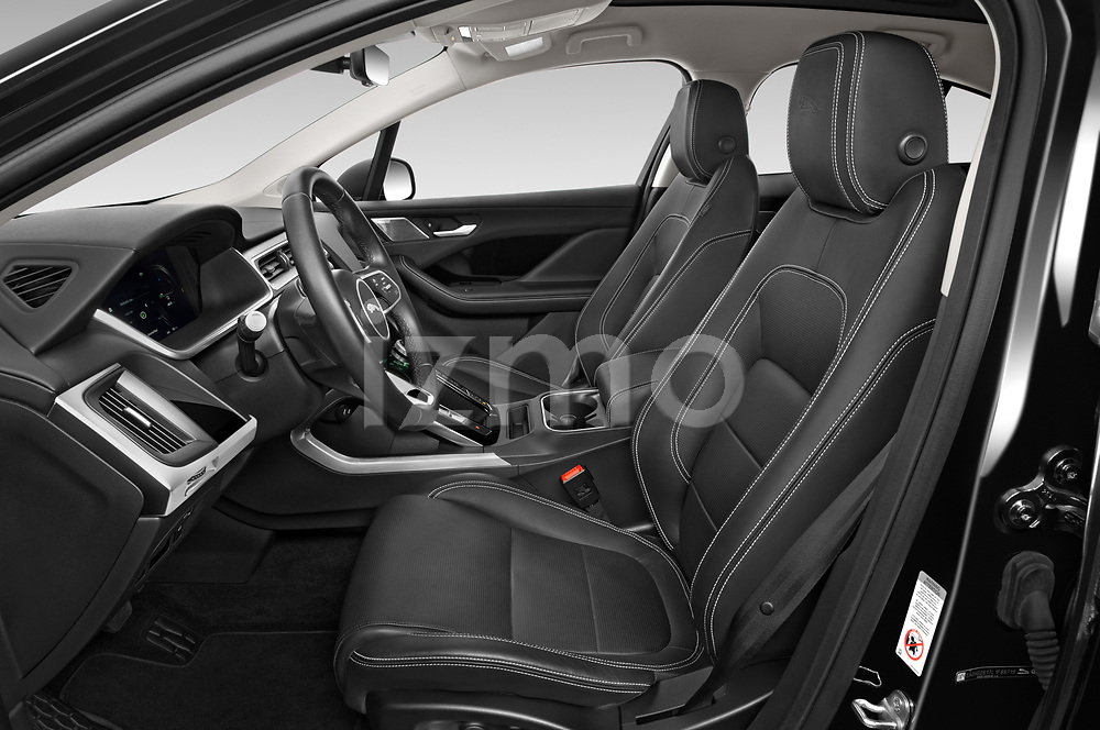 Front seat view of 2020 Jaguar I-PACE HSE 5 Door SUV Front Seat  car photos