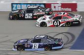 #19: Brandon Jones, Joe Gibbs Racing, Toyota Camry Toyota XYO Networks #61: Kaz Grala, Fury Race Cars LLC, Ford Mustang NETTTS