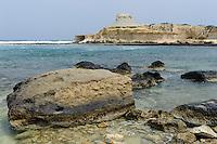 Küste bei Qbajjar auf Gozo, Malta, Europa