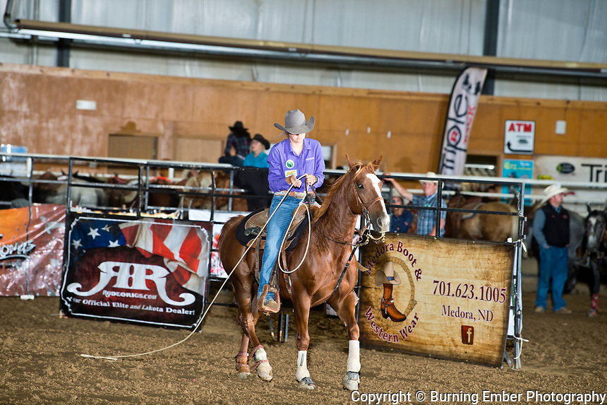 Sheyenne Jacobson at the Blitz Breakaway roping Sept 20th 2019.  Photo by Josh Homer/Burning Ember Photography.  Photo credit must be given on all uses.
