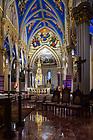 December 12, 2019; Basilica of the Sacred Heart interior (Photo by Matt Cashore/University of Notre Dame)