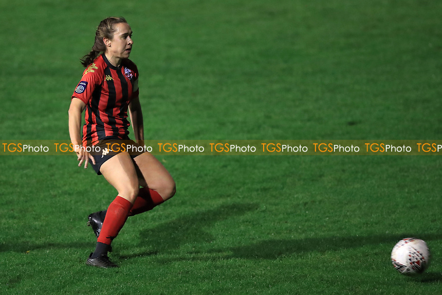 Rhian Cleverly of Lewes during Lewes Women vs Bristol City Women, FA Women's Continental League Cup Football at The Dripping Pan on 18th November 2020