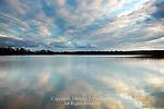 Sunset on the Green Lane Reservoir,  Green Lane Park; Montogmery County, Pennsylvania