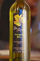 Bottle of Don Prospero Sauvignon Blanc Bodega Carlos Pizzorno Winery, Canelon Chico, Canelones, Uruguay, South America