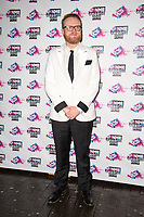 Huw Stephens<br /> arriving for the NME Awards 2018 at the Brixton Academy, London<br /> <br /> <br /> ©Ash Knotek  D3376  14/02/2018