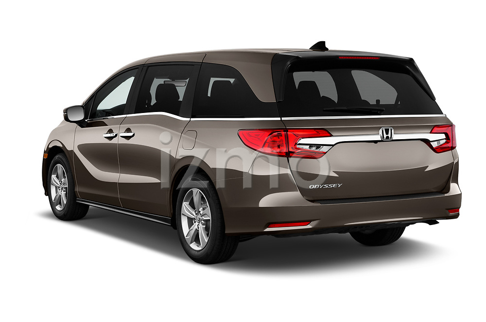 Car pictures of rear three quarter view of 2019 Honda Odyssey EX-L 5 Door Minivan Angular Rear