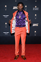 MIAMI, FL - FEBRUARY 1: Lamar Jackson attends the 2020 NFL Honors at the Ziff Ballet Opera House during Super Bowl LIV week on February 1, 2020 in Miami, Florida. (Photo by Anthony Behar/Fox Sports/PictureGroup)