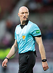 Hearts v St Johnstone…..14.12.19   Tynecastle   SPFL<br />Referee Alan Newlands<br />Picture by Graeme Hart.<br />Copyright Perthshire Picture Agency<br />Tel: 01738 623350  Mobile: 07990 594431