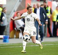 Svenja Huth      <br /> /   World Championships Qualifiers women women /  2017/2018 / 07.04.2018 / DFB National Team / GER Germany vs. Czech Republic CZE 180407057 / <br />  *** Local Caption *** © pixathlon<br /> Contact: +49-40-22 63 02 60 , info@pixathlon.de
