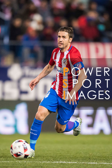 "Gabriel Fernandez Arenas ""Gabi"" of Atletico de Madrid in action during their Copa del Rey 2016-17 Round of 16 match between Atletico de Madrid and UD Las Palmas at the Vicente Calderón Stadium on 10 January 2017 in Madrid, Spain. Photo by Diego Gonzalez Souto / Power Sport Images"