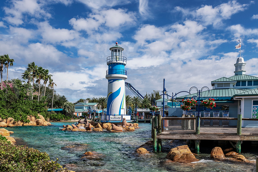 Seaworld marine park, Orlando Florida, USA.