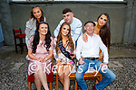 Desiree Fitzgerald from Tralee celebrating her 21st at home on Saturday night with her family. Seated l to r: Melissa and Desiree Fitzgerald, Tim Horan. Back l to r: Rachael, Hayden and Andrea Fitzgerald.